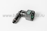 Соединитель топливного провода угловой пластиковый/11180-116441074/ г.Тольятти