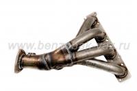 труба приемная с коллектором (паук) на двиг. 16-ти клап. с 2 дат.